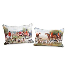 Fox Hunting Pillows