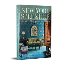 """New York Splendor: The City's Most Memorable Rooms"" Book by Wendy Moonan"