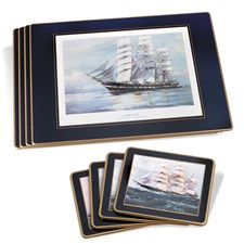 Clipper Ship Mats & Coasters
