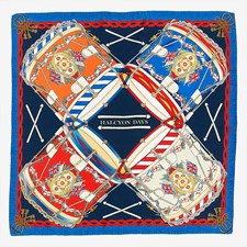Halcyon Days Drums Silk Scarves