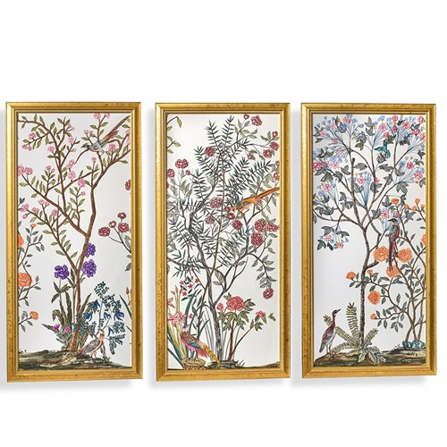 Traditional Chinoiserie Panels