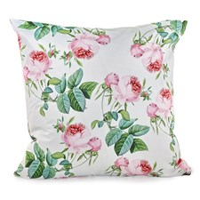 Redoute Pink Rose Pillow