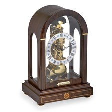 Beckett Walnut Clock