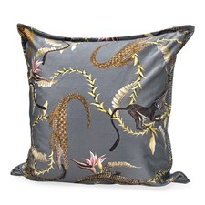 River Chase on Velvet Pillow