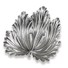 Bucellati Sterling Silver Acanthus Leaf Dishes