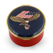 Halcyon Days Star Spangled Banner Music Box