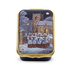 Halcyon Days Singing Choristers Enamel Box