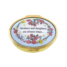 Halcyon Days Mothers & Daughters Enamel Box
