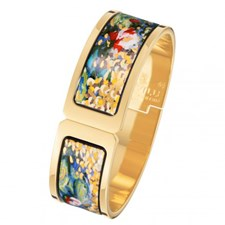 Freywille Claude Monet Orangerie Regina Clasp Bangle