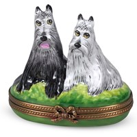 Two Scotties Limoges Box