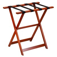Large Size Luggage Rack, Mahogany