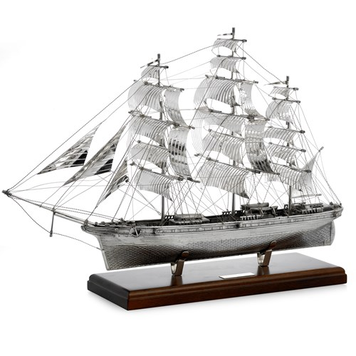 Cutty Sark Sterling Silver Ship