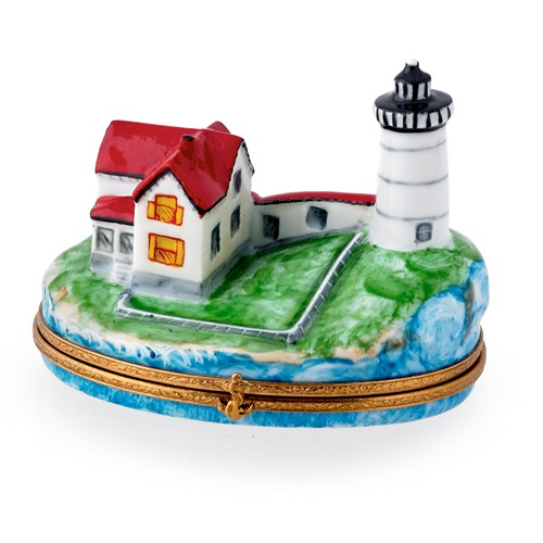 Nubble Lighthouse Limoges Box