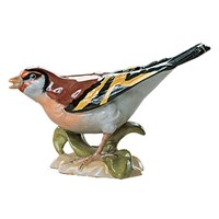 Dresden Porcelain Bird: Goldfinch