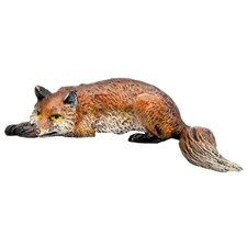 Austrian Bronze Lying Fox Figurine