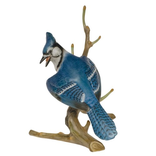 Herend Natural Blue Jay 6""