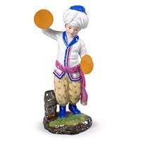 Porcelain Turkish Cymbals Player