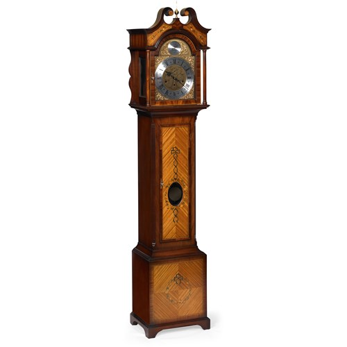 Fairfield Grandmother Inlaid Clock
