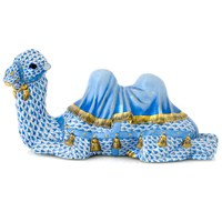 Herend Camel, Blue