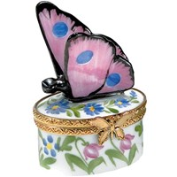 Mini Pink Butterfly Box