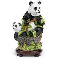 Mother & Cub Panda Figurine
