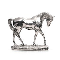 Sterling Silver Thoroughbred