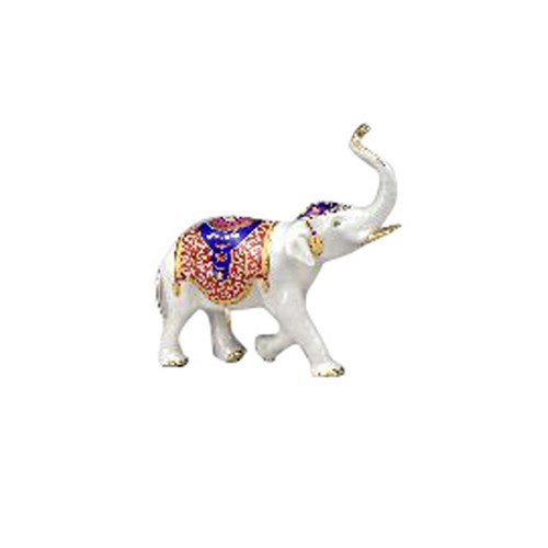 Small Porcelain Elephant