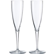 Baccarat Dom Pérignon Flutes, Boxed Set of 2