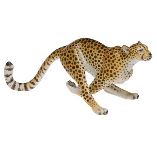 Herend Cheetah, Natural