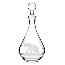 Queen Lace Elephant Decanter