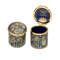 Midnight Fireworks Enamel Box