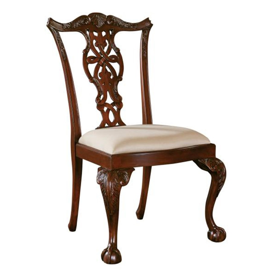 chippendale side chair. Carved Mahogany Chippendale Side Chair. Click To Expand Chair E