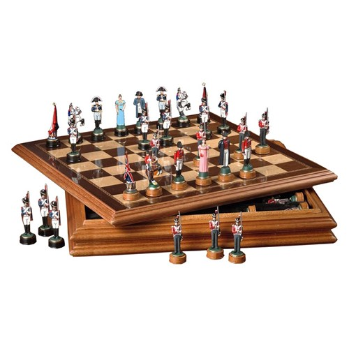 Chess Set Napoleon Battle Of Waterloo
