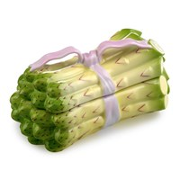 Asparagus Box with Pink Ribbon