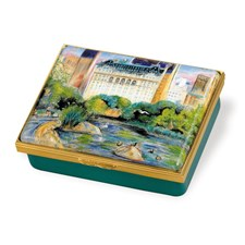 Spring In Central Park Enamel Box