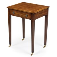 Satinwood & Rosewood End Table