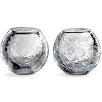 Narcissus Crystal Salt & Pepper Shakers