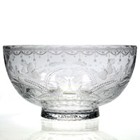 William Yeoward Crystal Wedding Bowl, Abigail Collection