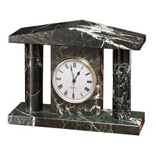 Black Marble Senate Clock