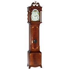 Gleneagle Mahogany Grandfather Clock