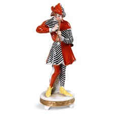 Porcelain Musician with Clarinet