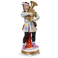 Porcelain Musician with Tuba