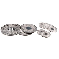 Engravable Silverplate Placemats and Coasters