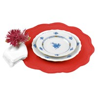 Round Scallop Edge Placemats