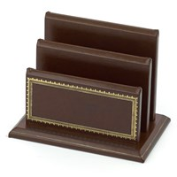 Florentine Leather Letter Racks