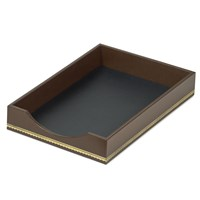 Florentine Leather Single Legal Trays