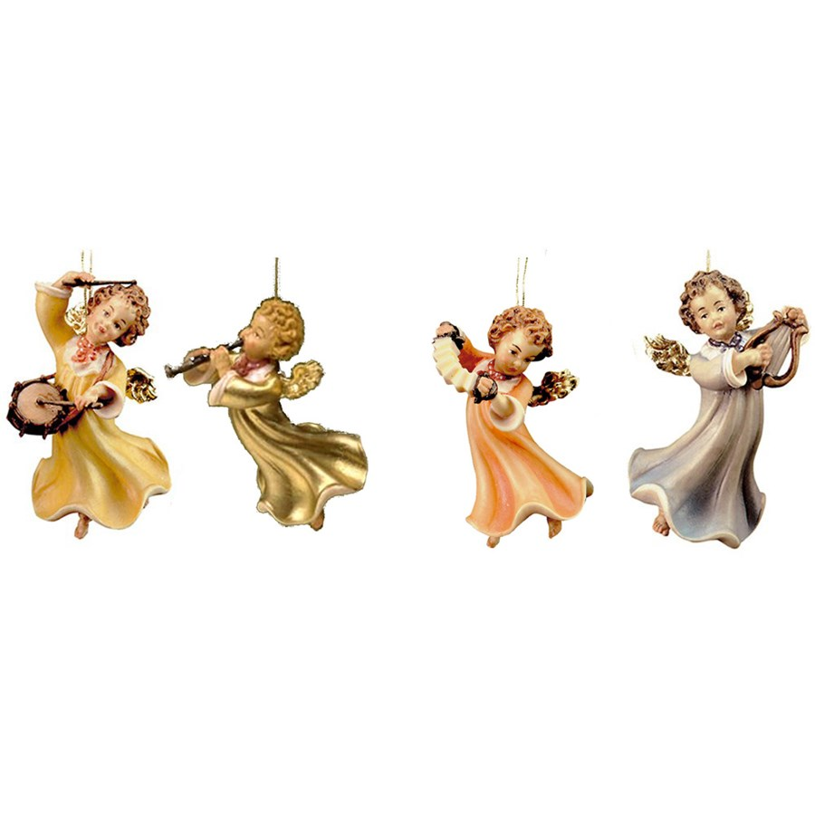 angel musician ornaments christmas decorations holiday table decorative crafts unique home decor resin crafts