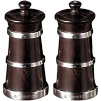 Sterling-Banded Salt & Pepper Mills