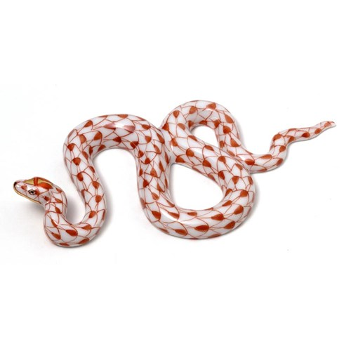 Herend Miniature Snakes Figurine