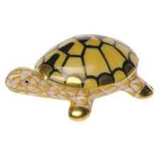 Herend Tiny Turtle Figurine